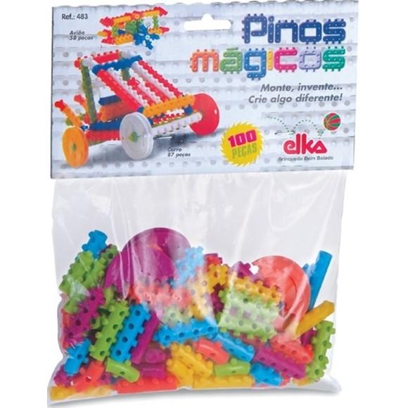 PINOS MAGICOS C/ 100 PCS ELKA