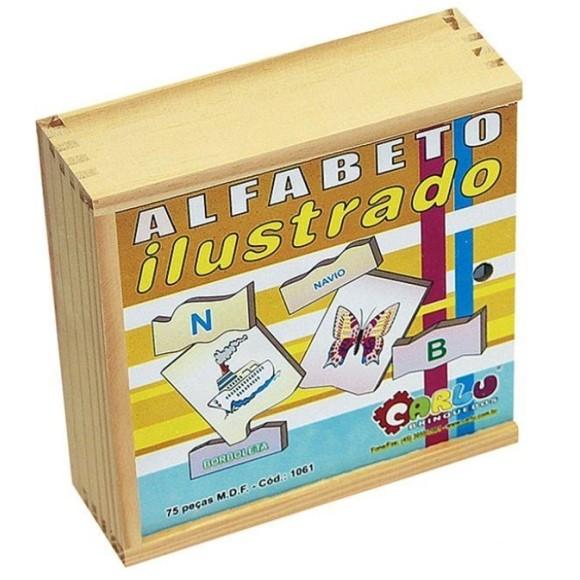 ALFABETO ILUSTRADO CARLU1061